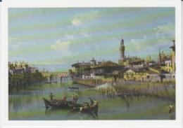 Postcard - Art - Bernardo Bellotto - View Of The Arno, Towards Ponte Vecchio,card No..mu2186 - New - Postcards