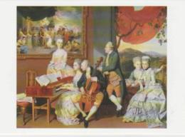 Postcard - Art - Johan Zoffany - Lord Cowper And The Gore Family - Card No..mu2198  New - Postcards