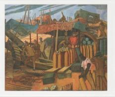 Postcard - Art - Wyndham Lewis - A Canadian Gun Pit - Card No..mu1984  New - Postcards