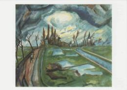 Postcard - Art - Erich Heckel - Spring Time In Flanders 1916 - Card No..mu1995  New - Postcards