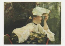 Postcard - Art - James Tissot - The Fan C1880 - Card No..mu2262  New - Postcards