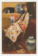 Postcard - Art - James McNeill Whistler - The Lange Leizen Of The Six Marks - Card No..mu2011  New - Postcards
