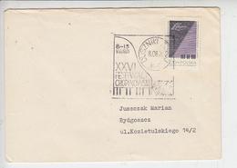 POLONIA  1971 - Annullo Speciale Illustrato -Chopin Festival - Musica