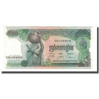 Billet, Cambodge, 500 Riels, Undated (1973-75), KM:16a, NEUF - Cambodia
