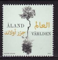 Aland, 2017, Flora, Trees, 1 Stamp - Aland