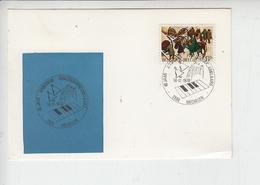 BELGIO  1970 - Annullo Speciale Illustrato - Musica - Musica