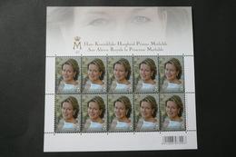COB  F4293 **- Neuf - 2013 - SAR La Princesse Mathilde A 40 Ans - Feuillets