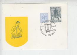 BELGIO  1969 - Annullo Speciale Illustrato - Musica - Musica