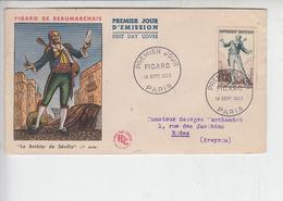 FEANCIA  1953 - FDC Le Barbier De Séville - Musica - Rossini - Musica
