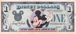 USA 1 Disney Dollar (1989) - EF/XF - USA
