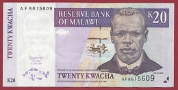 Malawi 20 Kwacha Du 01/04/2004 Dans L 'état - Malawi