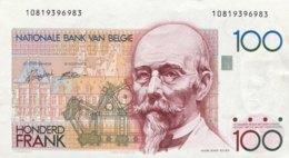 Belgium 100 Francs, P-142 - AUNC - Sign.5+14 - [ 2] 1831-... : Regno Del Belgio