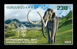 Armenia 2019 Mih. 1112 Fauna Of The Ancient World. Steppe Mammoth MNH ** - Armenien