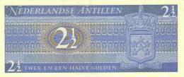 NETHERLANDS ANTILLES P. 21a 2,50 G 1970 UNC - Antille Olandesi (...-1986)