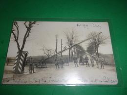 R/  WWI CARTE PHOTO  POILUS 1919 FRONTIERE DE LA ZONE D OCCUPATION DE LA TETE DU PONT COBLENCE MOSELLE - Oorlog 1914-18