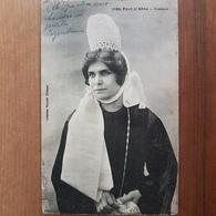 Pont-l'Abbé.brodeuse.coiffe Costume.édition Villard 1889 - Pont L'Abbe