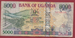 Ouganda 5000 Shillings 2004  Dans L 'état - Uganda