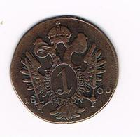 //  OOSTENRIJK  1 KREUZER  1800 S - Autriche