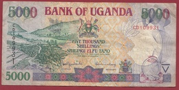 Ouganda 5000 Shillings 2000  Dans L 'état - Uganda
