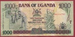 Ouganda 1000 Shillings 2003  Dans L 'état - Uganda