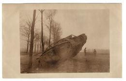 MILITARIA - 1914-1918 - CARTE PHOTO - PHOTO CARD - CAMBRAI (59) - SCÈNE DE GUERRE - MATERIEL - Guerre 1914-18