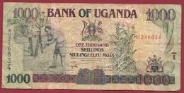 Ouganda 1000 Shillings 2001  Dans L 'état - Uganda
