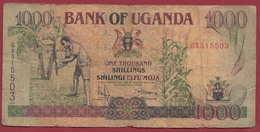 Ouganda 1000 Shillings 1996  Dans L 'état - Uganda