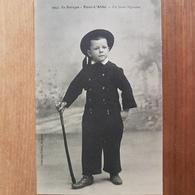 Pont-l'Abbé.un Jeune Bigouden.costume Breton.édition Villard 1952 - Pont L'Abbe
