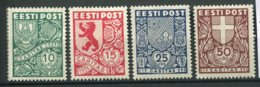 13385  ESTONIE  N°163/6 *  Série  Caritas  1939   B/TB - Estland