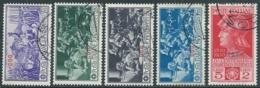 1930 EGEO COO USATO FERRUCCI 5 VALORI - RA4-2 - Egée (Coo)