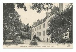 CPA 58 CLAMECY CHATEAU DE VAUVERT FACADE SUR LE PARC - Clamecy