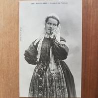 Pont-l'Abbé.croquant Des Pommes.coiffe Costume Breton.édition Villard 1227 - Pont L'Abbe