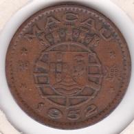 Colonie Portugaise Macau 10 Avos 1952, KM# 2 - Macao