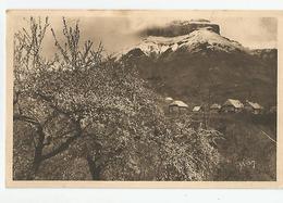 74 Haute Savoie - Annecy Printemps Sous Les Dents De Lanfon Encore Neigeuses Ed Yvon 24 - Annecy