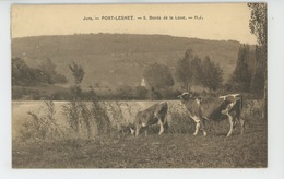 PORT LESNEY - Bords De La Loue (vaches ) - Autres Communes