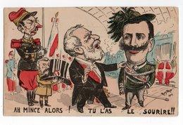 Illustrateur ROSTRO 1903 *  POLITIQUE SATIRIQUE * ARMAND FALLIERES * - Autres Illustrateurs