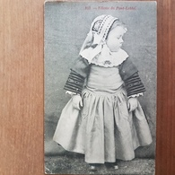 Fillette De Pont L'abbé.costume Breton.sans édition N°103 - Pont L'Abbe