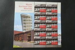 COB  F4377 ** Neuf -  2013  - De Nouveaux Musées Pour Ne Pas Oublier – Red Star Line Museum (Antwerpen) - Blocs 1962-....