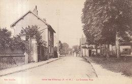 77 /  Isles Les Villenoy :  Grande Rue : Tampon Compagnie De L'air         ///   REF  JUIN .19 : BO 77 - Autres Communes