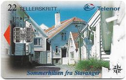 Norway - Telenor - Stavanger - N-124A2 (Cn.  C85024937) 06.1998, 18.842ex, Used - Norway