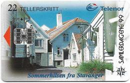 Norway - Telenor - Stavanger (SAMLERDAGENE '99 ISSUE) - N-124Ba (Cn. C85024937) 06.1998, 975ex, Mint - Norvège