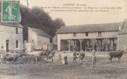 77 /  Isles Les Villenoy :  La Ferme  Où échoua Le Ballon Le Daguerre Guerre De 1870        ///   REF  JUIN .19 : BO 77 - Otros Municipios