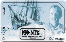 Norway - Telenor - Nansen  - N-260B - (MEDLEMSKORT 2004 ISSUE), 23U, 325ex, Used - Norway