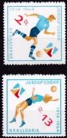 Bulgarien, 1964, 1452/53,   MNH **,  Europacup Im Volleyball Der Damen. - Bulgarie