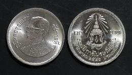 Thailand Coin 10 Baht 1983 100th Anniversary Postal Service Y163 UNC - Thailand