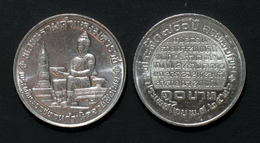 Thailand Coin 10 Baht 1983 700th Anniversary Thai Alphabet Y165 - Thailand