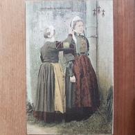 Costumes De Pont L'abbé.bigoudenes En Coiffe.colorisée.édition Artaud Et Nozais Sans Numéro - Pont L'Abbe