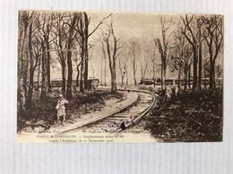 Forêt De Compiegne Emplacement Exact Où Fut Conclu L'Armistice Le 11 Nov 1918 Tampon Au Dos - Guerre 1914-18