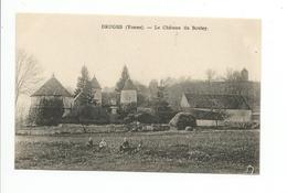 DRUYES-LES-BELLES-FONTAINES  Château Du Bouley - Frankreich