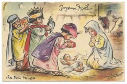 Germaine BOURET- LES ROIS MAGES - Joyeux Noël... - Bouret, Germaine